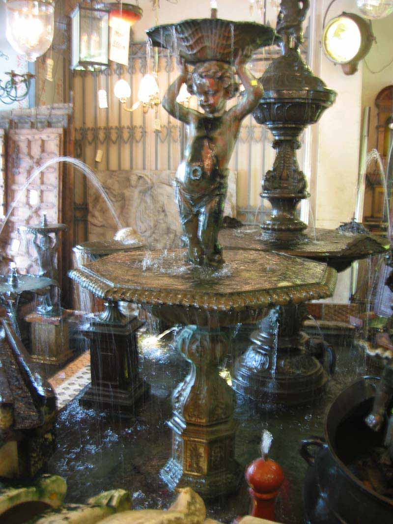 FRENCH CHERUB FOUNTAIN