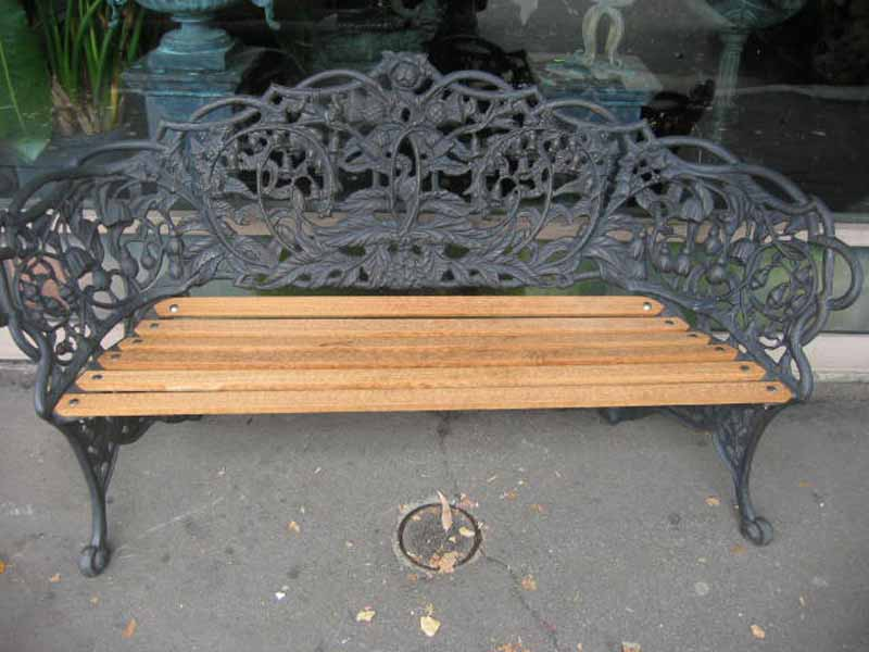 GLASGOW SEAT IN BRONZE