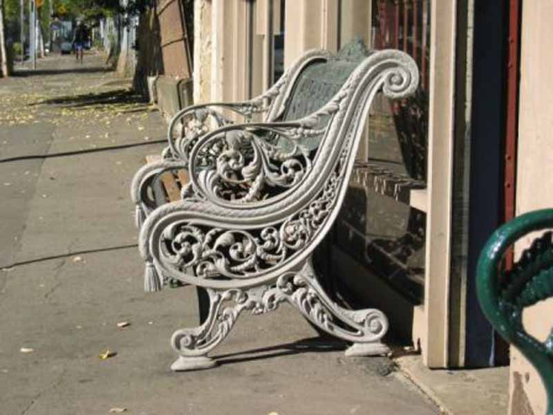 Regency seat ends ex hyde park england